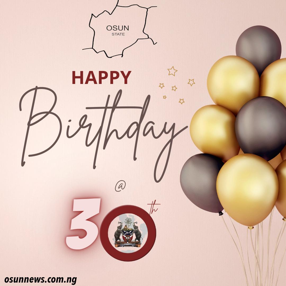Osun at 30