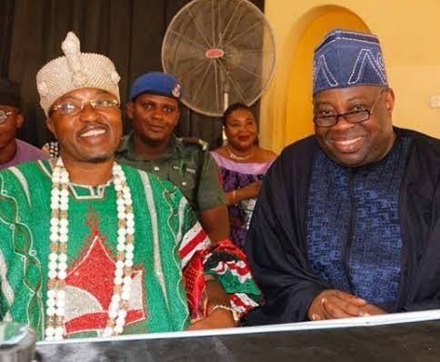 Dele Momodu and Oluwo